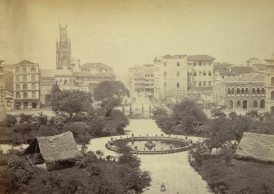 Horniman Circle, Bombay (Then)