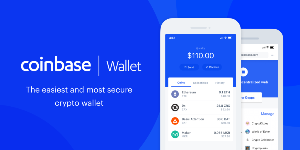 Coinbase – Cryptocurrency Wallet